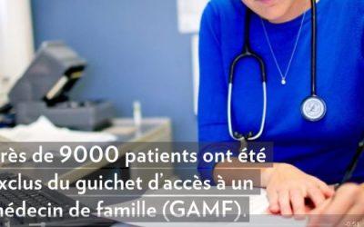 Premiers rendez-vous manqués: 9000 patients exclus du guichet d'accès à un médecin de famille. CPM : facile de blâmer les patients.