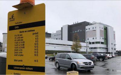 Les frais de stationnement des hôpitaux moins chers dès ce printemps