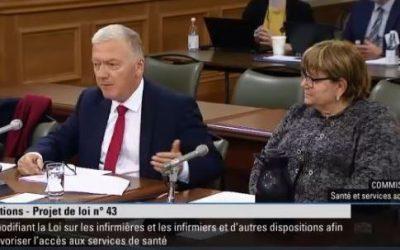 CPM mémoire projet de loi 43 infirmières et infirmiers (automne 2019) VERSION FINALE