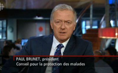 Le président du Conseil pour la protection des malades, Paul Brunet, réagit aux accusations d'agression sexuelle envers une aînée par un ancien bénéficiaire.