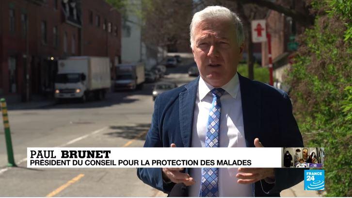 Entrevue avec France-24 : Covid-19 au Canada, le rapport choc de l'armée sur les maisons de retraite