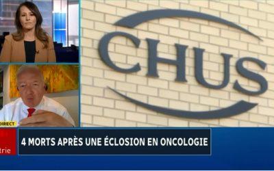 4 morts après une éclosion en oncologie au CHUS